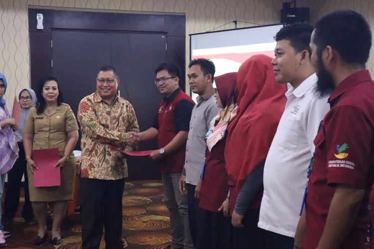 Sekretariat Direktorat Jenderal Penanganan Fakir Miskin menyelenggarakan Rapat Koordinasi Bantuan Sosial Pangan, di Pontianak, Selasa (03/12/2019).