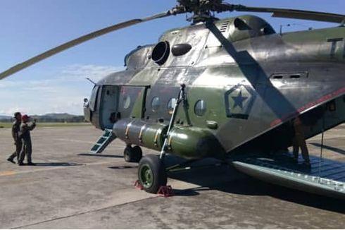 Satelit Pantau 6 Titik Panas di Oksibil, Rute Hilangnya Heli MI-17