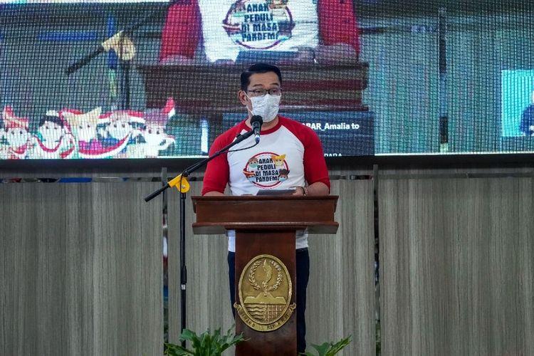 Ridwan Kamil dalam Peringatan Hari Anak Nasional 2021