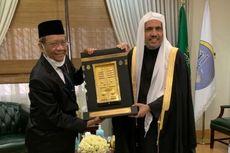 Mahfud MD Bertemu Sekjen Rabithah Alam Islami di Arab Saudi, Bahas Wawasan Moderasi Islam