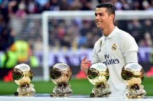 Zidane Kurang Senang Ronaldo Cuma Dapat 4 Ballon d'Or