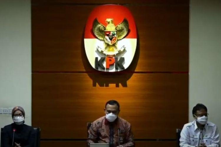 Menteri Kesehatan Budi Gunadi Sadikin mengunjungi Komisi Pemberantasan Korupsi, Kamis (11/2/2021).