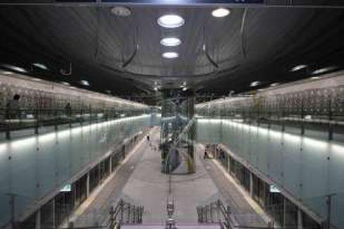 Stasiun MRT di Taiwan Mewah dan Futuristik