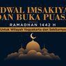 INFOGRAFIK: Jadwal Imsak dan Buka Puasa Yogyakarta Ramadhan 2021