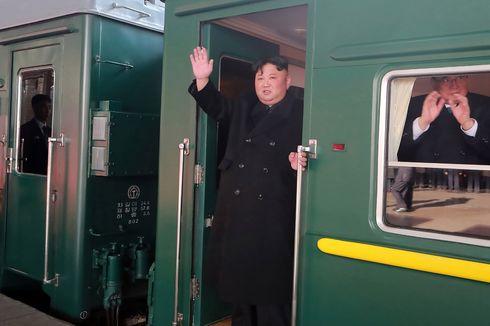 Media Korea Utara Rilis Foto Keberangkatan Kim Jong Un dari Pyongyang