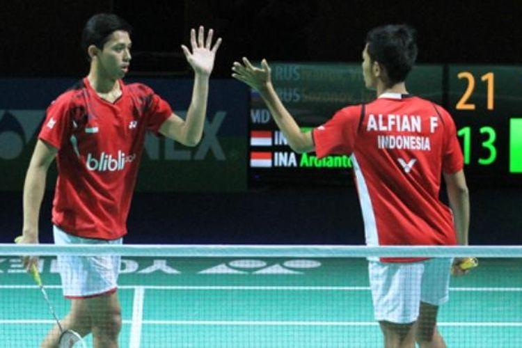 Muhammad Rian Ardianto/Fajar Alfian