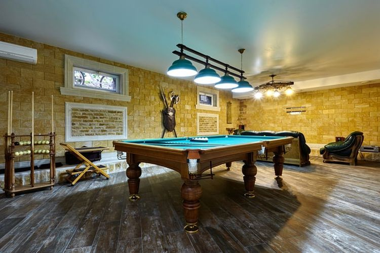 Salah satu cara memanfaatkan ruang basement.