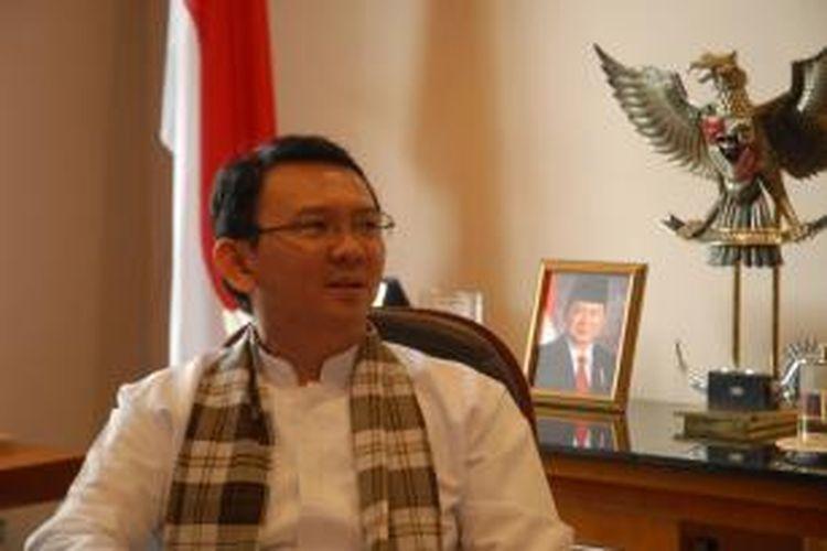 Wakil Gubernur DKI Jakarta, Basuki Tjahaja Purnama, Balaikota, Jakarta, Jumat (26/7/2013).