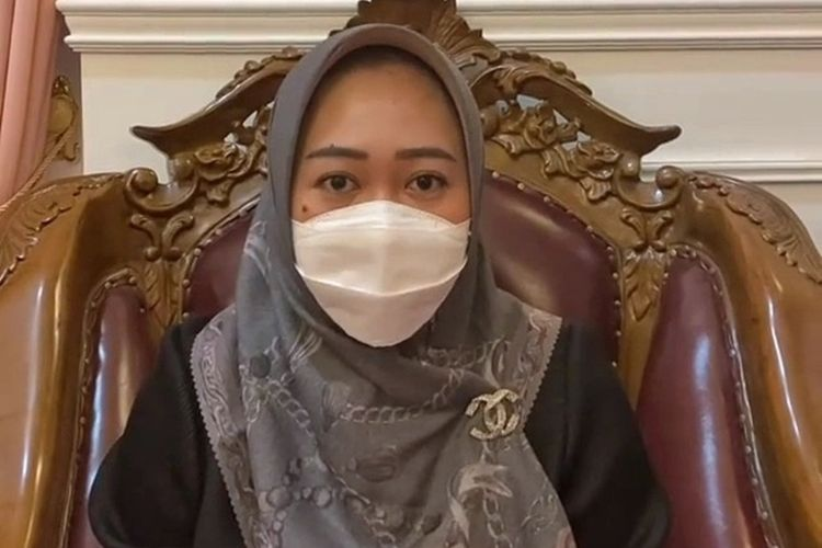 Bupati Purbalingga, Jawa Tengah, Dyah Hayuning Pratiwi dalam video yang diunggah di akun instagram pribadinya, Minggu (13/12/2020) pukul 17 30 WIB.