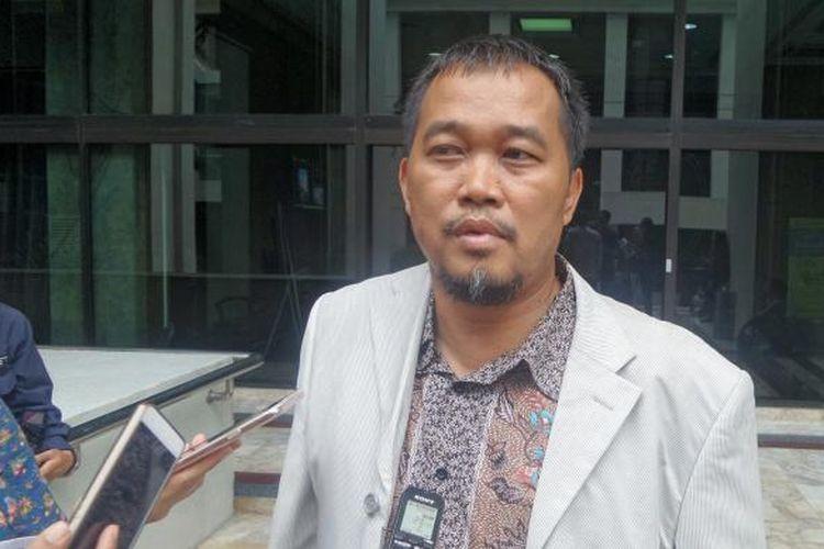 Boyamin Saiman, saat ditemui di gedung Mahkamah Agung, Jakarta Pusat, Rabu (9/11/2016).