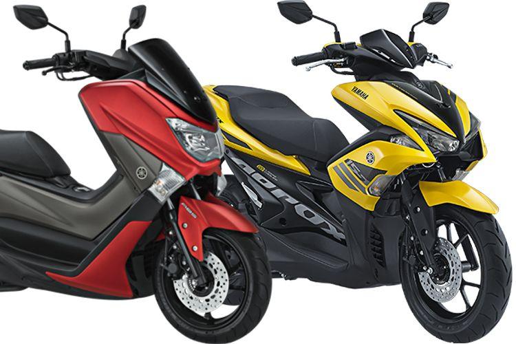 Yamaha NMAX Vs Aerox 155
