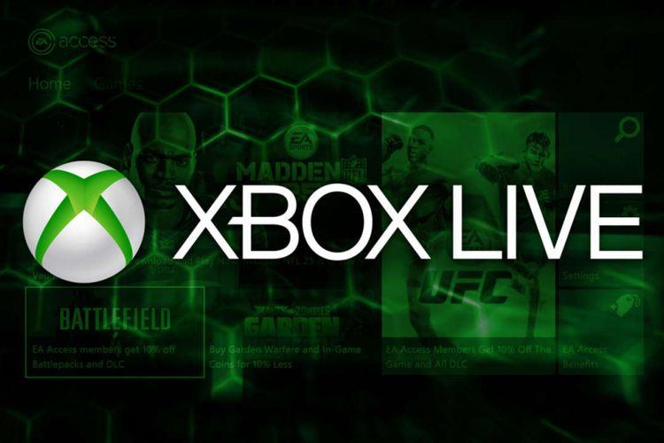 Ilustrasi Xbox Live