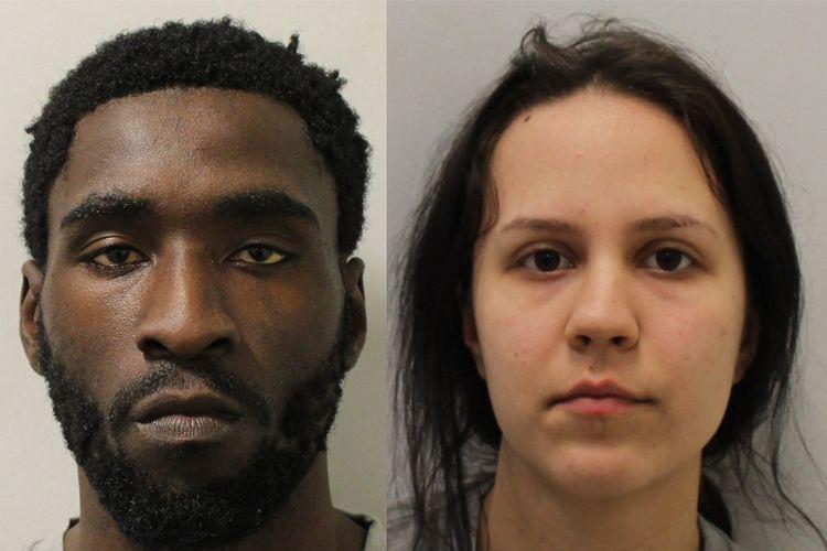 Pembunuh Adrian Murphy, Osei dan Diana Cristea divonis penjara seumur hidup mulai 14 Desember mendatang.