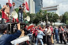 Terlibat Saling Dorong dengan Aparat, 30 Orang Massa PMKRI Diamankan Polisi
