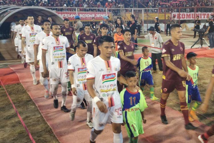 Pertandingan pekan ke-23 Liga 1 2019 antara PSM Makassar vs Persija Jakarta di Stadion Andi Mattalatta, Mattoangin, Makassar, Minggu (20/10/2019).