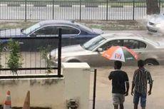 Singapura Dilanda Banjir akibat Hujan Lebat