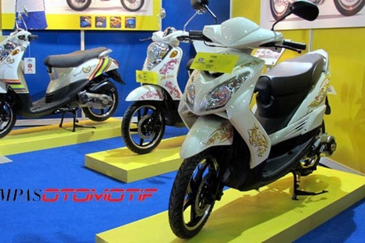 Produsen sepeda motor Jialing ikut memeriahkan PRJ.