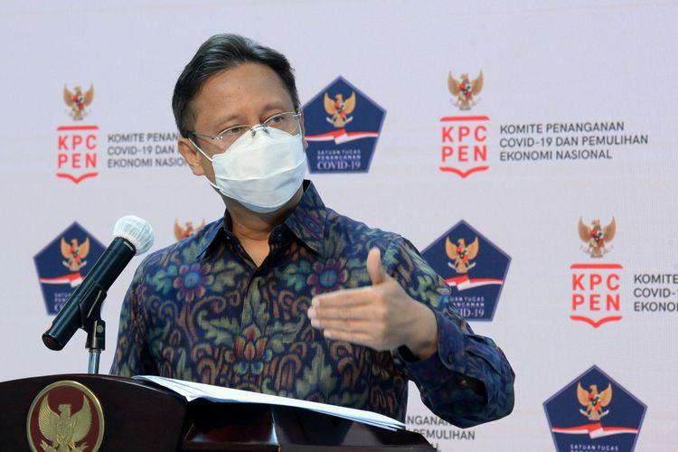 Ketua Satuan Tugas Pemulihan dan Transformasi Ekonomi Nasional (Satgas PEN) Budi Gunadi Sadikin