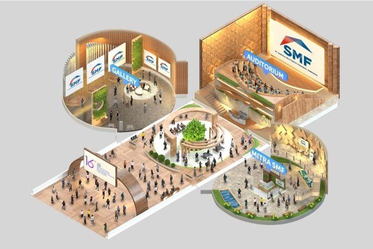 PT Sarana Multigriya Finansial atau SMF kembali menggelar SMF Virtual Griya Expo 2021.