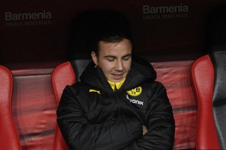 Pemain Borussia Dortmund, Mario Goetze.