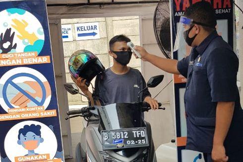 Servis Motor di Bengkel Resmi Yamaha di Era New Normal