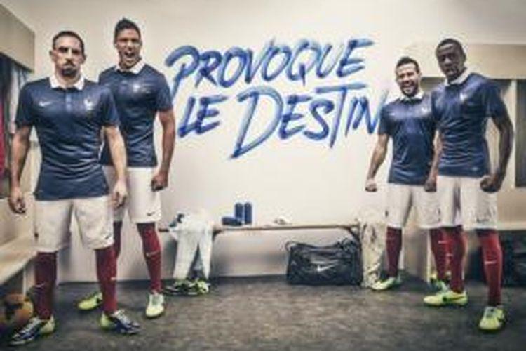 Seragam baru Perancis pada Piala Dunia 2014