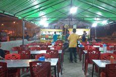 Pedagang Kaki Lima di Pekanbaru Sepi Pembeli gara-gara Kabut Asap