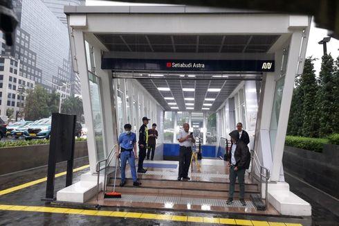 Banjir Jakarta, MRT Beroperasi Normal