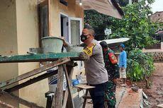 Kisah Haru Anggota TNI, Rumahnya Tak Layak Huni Direnovasi Polisi