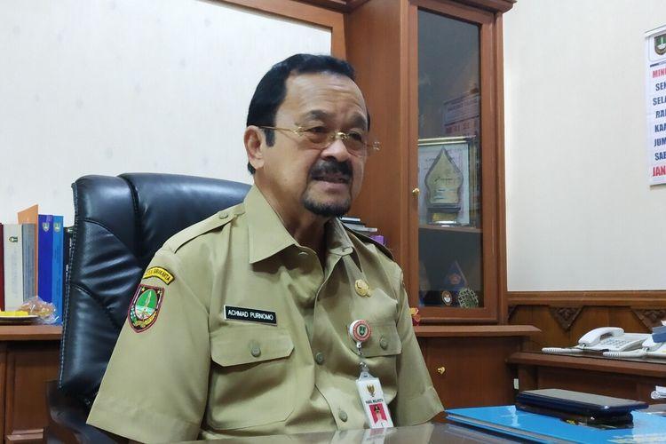 Wakil Wali Kota Surakarta yang ditugaskan sebagai bakal calon wali kota dari DPC PDI-P Kota Surakarta, Achmad Purnomo ditemui di Solo, Jawa Tengah, Senin (13/1/2020).