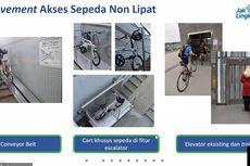 Conveyor Belt dan Troli Sepeda Non-lipat Akan Disediakan MRT Jakarta