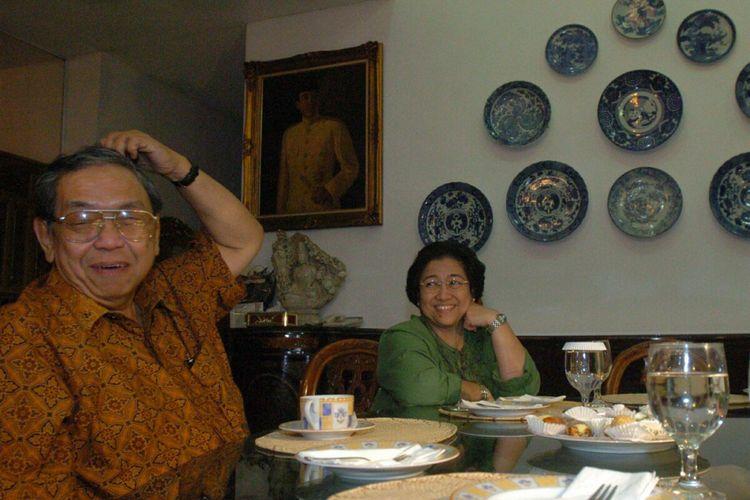 Dokumentasi pertemuan KH Abdurrahman Wahid (Gus Dur) dan Megawati Soekarnoputri.