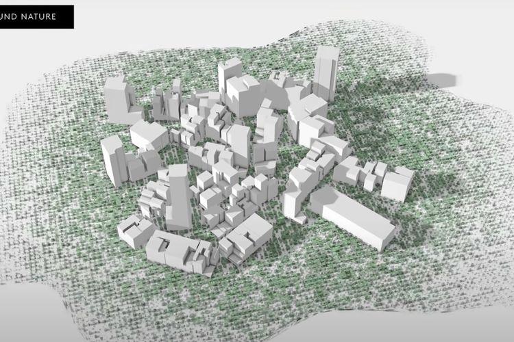 Mega City di Arab Saudi akan dibangun sepanjang 170 kilometer