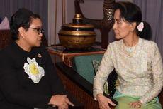 Ini yang Dibahas Menlu Retno-Aung San Suu Kyi soal Krisis Rohingya