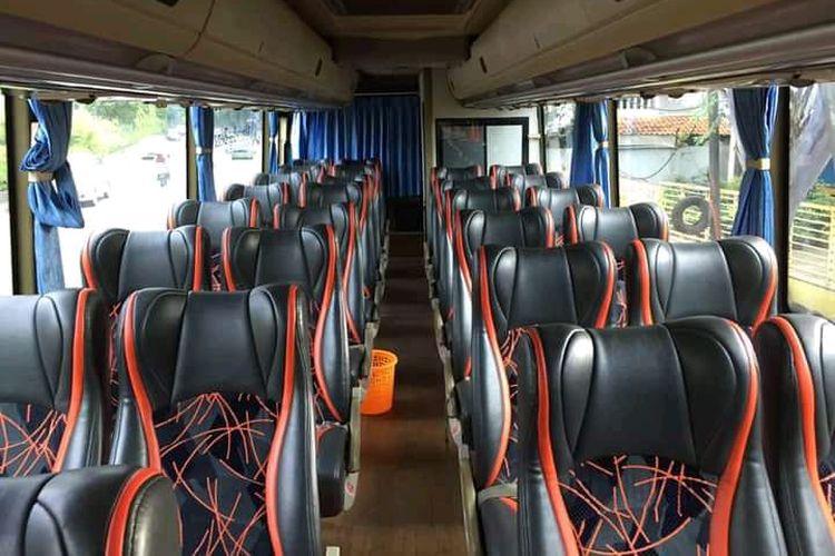 Potret konfigurasi kursi bus AKAP PO Blue Star