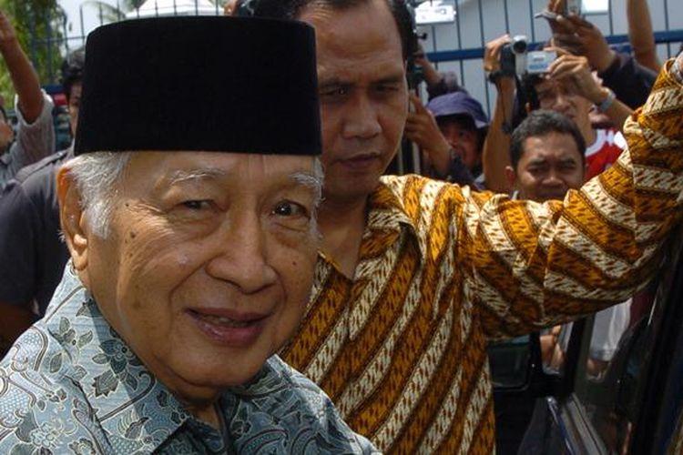 Mantan Presiden Soeharto.