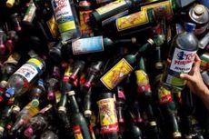 Polisi Sita 5.000 Botol Miras dari Rumah Kos di Pengadegan