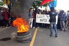 Mahasiswa Walenrang Lamasi Blokade Jalan Tuntut Pemekaran Kabupaten