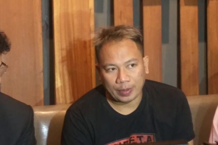 Vicky Prasetyo ditemui di kawasan Pejaten, Jakarta Selatan, Senin (27/1/2020).