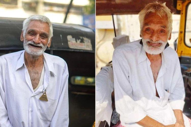 Deshraj Ji, seorang tukang becak di Mumbai, India. Kisahnya menjadi inspirasi karena demi mewujudkan cita-citanya menjadi guru, dia rela menjual rumah dan tidur di becaknya.