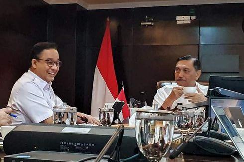 Pesan Luhut ke Anies soal 3 Problem Jakarta: Lepaskan Ego Sektoral
