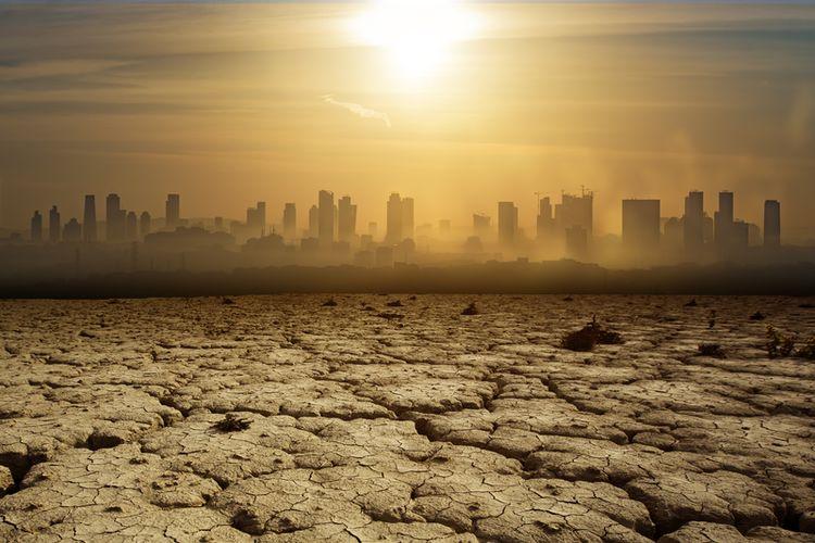 Ilustrasi pemanasan global diprediksi dapat menyebabkan gelombang panas yang intensi di Asia Tenggara.