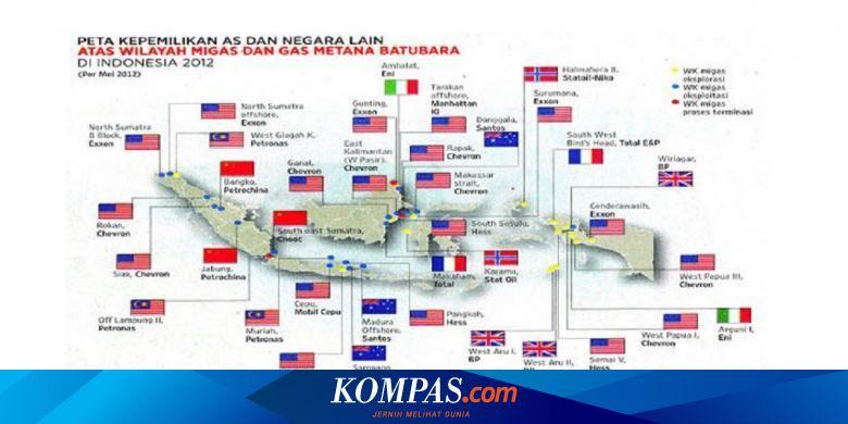 Asing Kuasai Migas Indonesia Halaman All Kompas Com