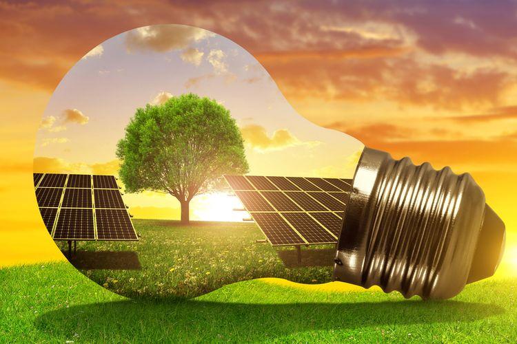 Ilustrasi energi alternatif