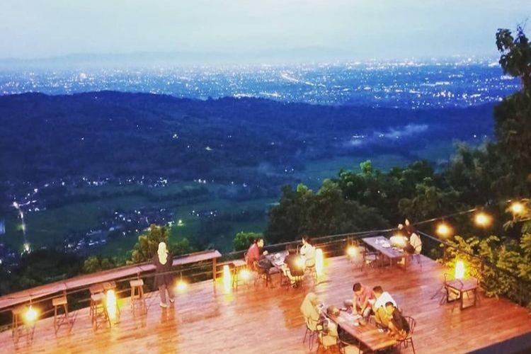 Tempat makan bernama Millenial Coffee & View di Kabupaten Bantul, Yogyakarta (dok. Millenial Coffee & View).