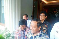 Menteri LHK Siti Nurbaya Bertemu Mahfud MD, Bahas Persiapan Rakornas Karhutla