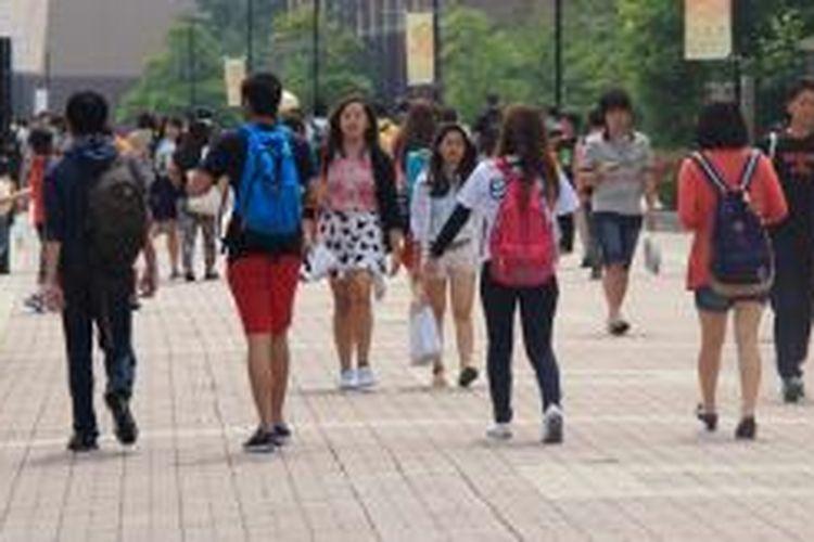 Menurut data Japan Student Services Organizations (JASSO) per 1 Mei 2013, jumlah pelajar Indonesia di Jepang saat ini mencapai angka 2410. Jumlah itu kemudian menempatkan Indonesia di peringkat keenam sebagai negara terbanyak yang pelajarnya menempuh pendidikan di Jepang.