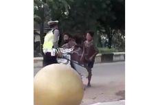 Viral, Video Bocah Ngamuk dan Banting Motor Saat Akan Ditilang Polisi di Kalsel