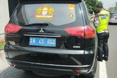 SUV Pelat Biru Disetop Polisi, Kantongi STNK dan SIM Sunda Nusantara