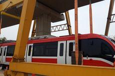Proyek Pembangunan LRT Jabodebek Tahap I Sudah 66,13 Persen